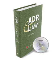 Adr the law 22nd edition fandeluxe Images